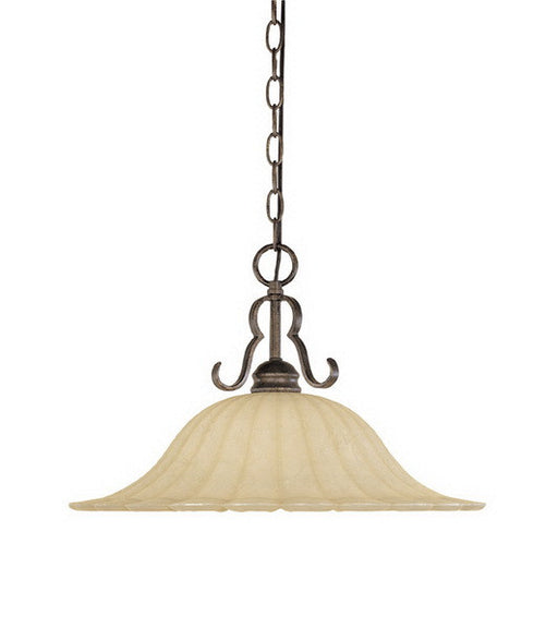Designers Fountain Lighting 82632 FSN Radford Collection One Light Hanging Chandelier in Forged Sienna Finish - Quality Discount Lighting