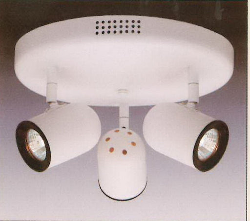 Designers Fountain Lighting TK301LV-06 Three Light Flush Ceiling Mount in White Finish - Quality Discount Lighting