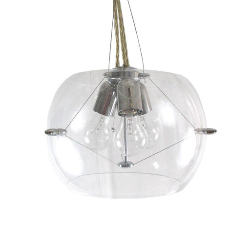 Oxygen Lighting 2-6153-14 Hanging Pendant in Polished Chrome Finish