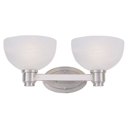 Z-Lite Lighting 314-2V-BN Chelsey Collection Two Bath Vanity Wall Mount in Brushed Nickel Finish