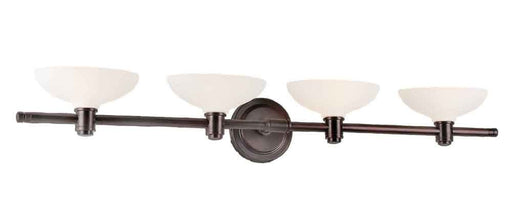 International Lighting 13764-64 Four Light Bath Vanity Wall Mount in Old Bronze Finish - Quality Discount Lighting