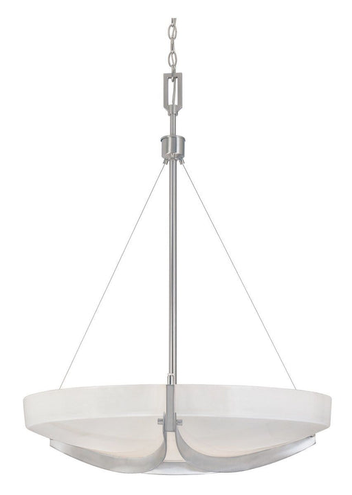 Designers Fountain Lighting 83031-SP Avanti Collection Three Light Hanging Pendant Chandelier in Satin Platinum Finish