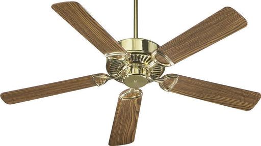 Quorum International 43525-2 Estate Collection Ceiling Fan in Polished Brass Finish - Quality Discount Lighting