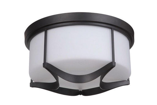 Craftmade Lighting 39083 ESP Sydney Collection Three Light Flush Ceiling Mount in Espresso Finish