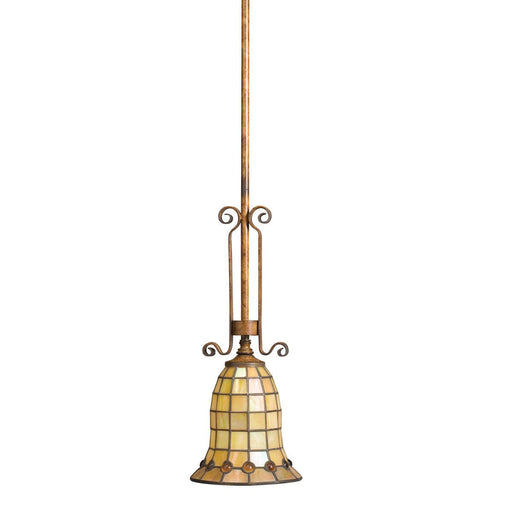 Aztec 34966 by Kichler Lighting Westerly Collection One Light Hanging Mini Pendant in Mottled Pecan Finish