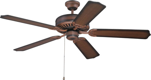 "Craftmade C52BCW-BLD52WWB Biscay Walnut 52"" Ceiling Fan with Washed Walnut Birch Blades"
