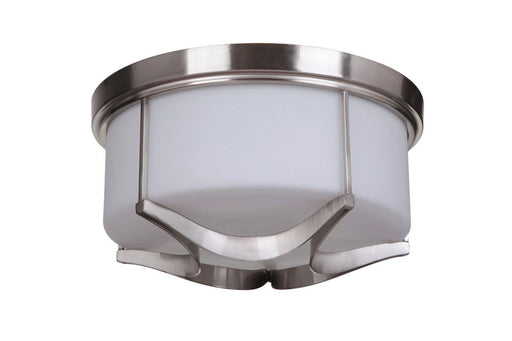 Craftmade Lighting 39083 SN Sydney Collection Three Light Flush Ceiling Mount in Satin Nickel Finish