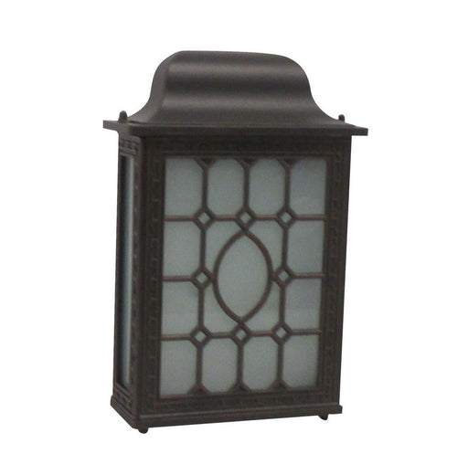 Rainbow EVER 4022 RT Two Light Exterior Wall Lantern in Rust Finish