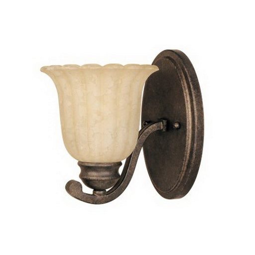 Designers Fountain Lighting 82601 FSN Radford Collection One Light Wall Sconce in Forged Sienna Finish - Quality Discount Lighting
