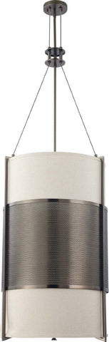 Nuvo Lighting 60-4432 Diesel Collection Six Light Hanging Pendant Chandelier in Hazel Bronze Finish - Quality Discount Lighting