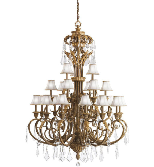 Kichler Lighting 2101 RVN Ravenna Collection Twenty One Light Hanging Chandelier in Ravenna Gold Finish