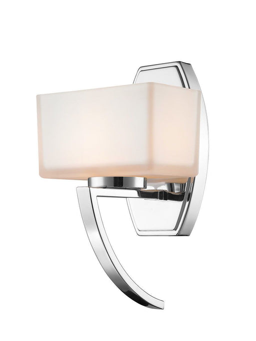 Z-Lite Lighting 614-1SCH Cardine Collection One Light Wall Sconce in Polished Chrome Finish