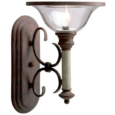 Kichler Lighting 93039 One Light Wall Sconce in Old Brick Finish - Quality Discount Lighting