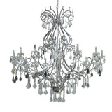 Kichler Lighting 34380 Twenty Eight Light Chandelier in Chrome Finish | Chandeliers Collection | diy cheap chandelier chandalier for sale