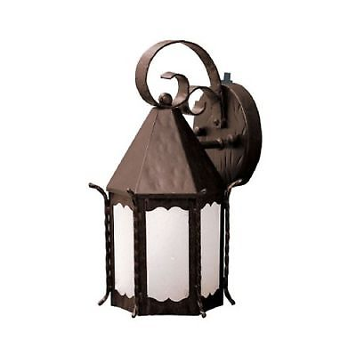 Kichler Lighting 10972 FZ Portolo Collection Energy Star Fluorescent Outdoor Exterior Wall Lantern in Franciscan Bronze Finish - Discount Lighting Fixtures