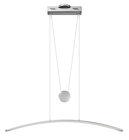 Elan by Kichler Lighting 83080 Sava Collection LED Hanging Pendant Chandelier in Silver Gray Finish