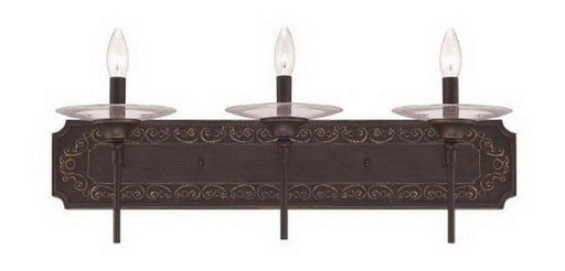 Craftmade Lighting 36303 ABZG Amsden Collection Three Light Bath Vanity Wall Mount in Aged Bronze Finish