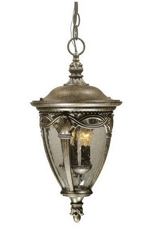 Vaxcel Lighting OD39196NB Balmoral Collection Three Light Outdoor Exterior Hanging Lantern in Noble Bronze Finish - Quality Discount Lighting
