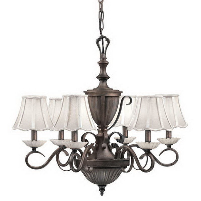 Kichler lighting 34175 six light chandelier in bronze finish kichler lighting 34175 six light chandelier in bronze finish quality discount lighting mozeypictures Image collections