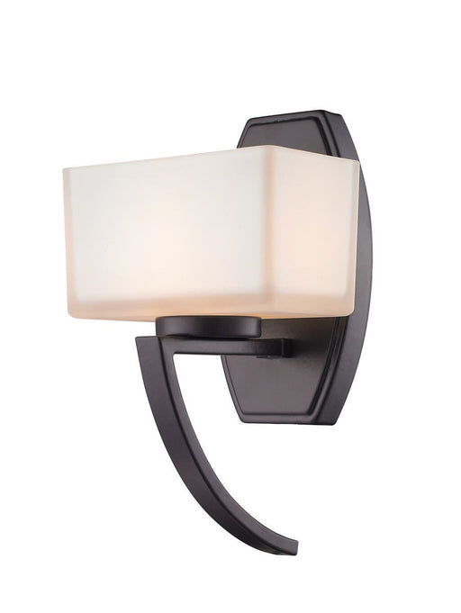 Z-Lite Lighting 614-1SBRZ Cardine Collection One Light Wall Sconce in Bronze Finish
