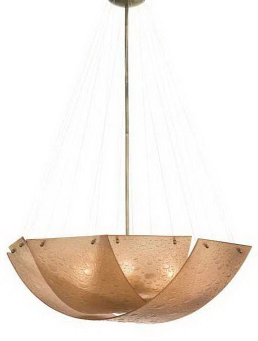 Kalco Lighting 5099 CB Cirrus Collection Five Light Pendant Chandelier in Chemical Bronze Finish - Quality Discount Lighting