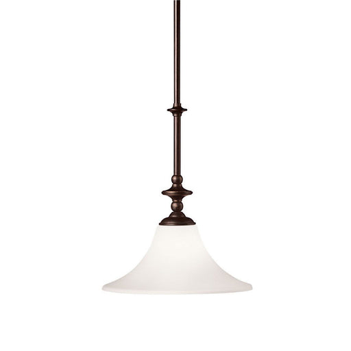 Kichler Lighting 3329 OAU Hamden Collection One Light Hanging Pendant in Olde Auburn Finish - Quality Discount Lighting