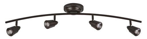 AFX TRRF4200LEDRB3k Four Light LED Ceiling or  Wall Track in Oil Rubbed Bronze Finish