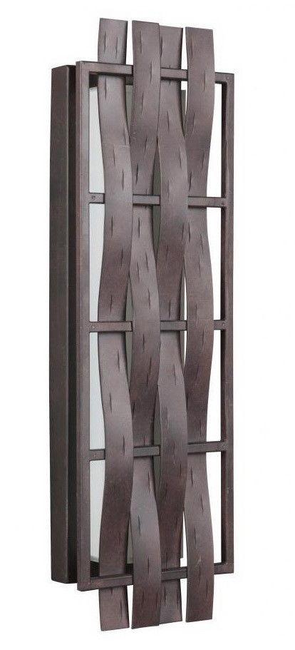 Craftmade Lighting 13622AG-LED Lakeshore Collection 22 Inch LED Wall Sconce in Aged Bronze Finish