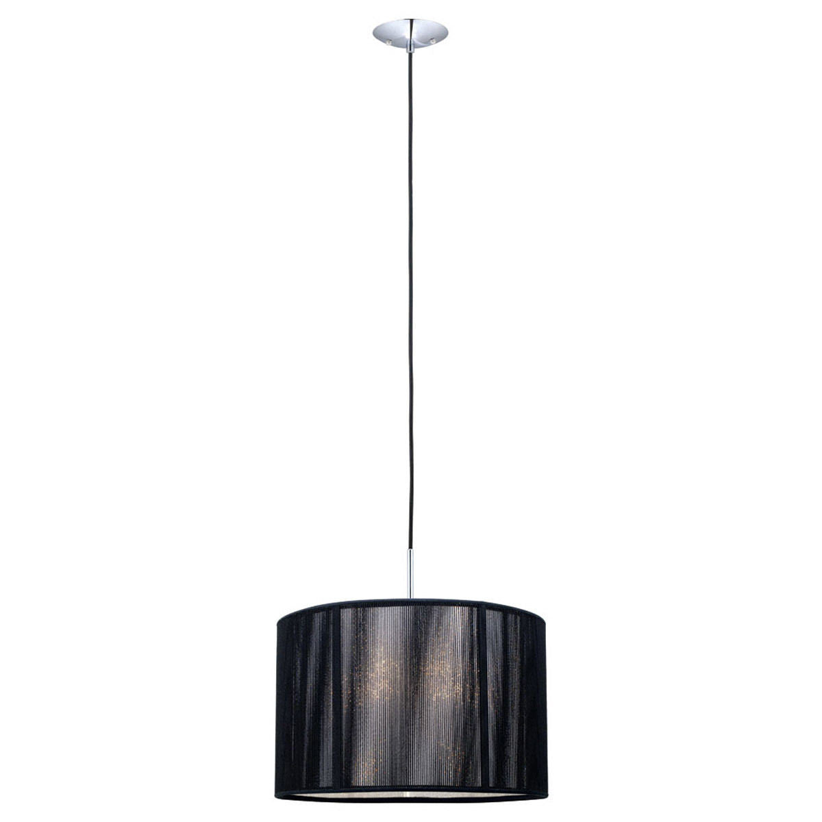 Image Eglo Lighting 20102A Fabienne Collection One Light Pendant Chandelier in Chrome Finish cxpqddrajlpeh Eglo Lighting Eglo Lighting 20102A Orders