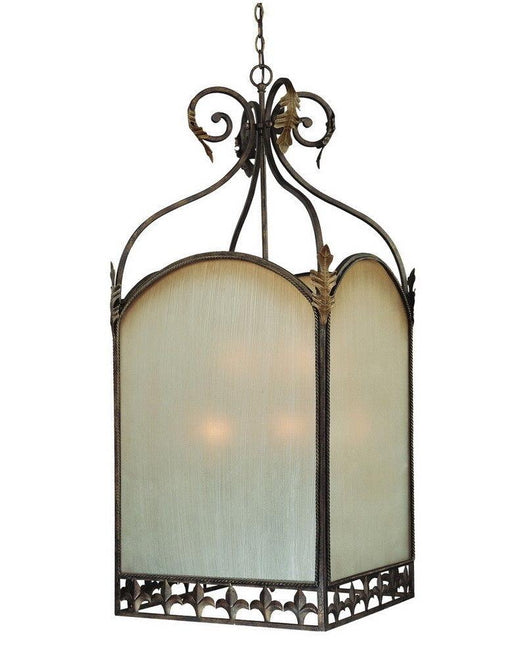 Craftmade Lighting 25739 BBZ Devereaux Collection Nine Light Pendant Chandelier in Burleson Bronze Finish
