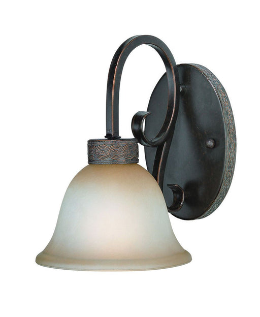 Craftmade Lighting 23601 BA  Brookshire Collection One Light Wall Sconce in Burnished Armor Finish