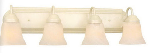 Leadco Lighting 3464PM Four Light Bath Vanity Wall Mount in Pearl Mist Finish - Quality Discount Lighting