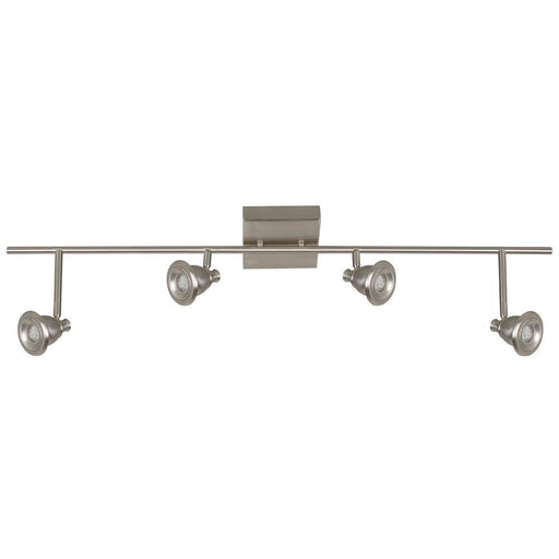 Rainbow Lighting BERF4200LEDSN3K Four Light Integrated LED Ceiling Track Fixture in Satin Nickel Finish