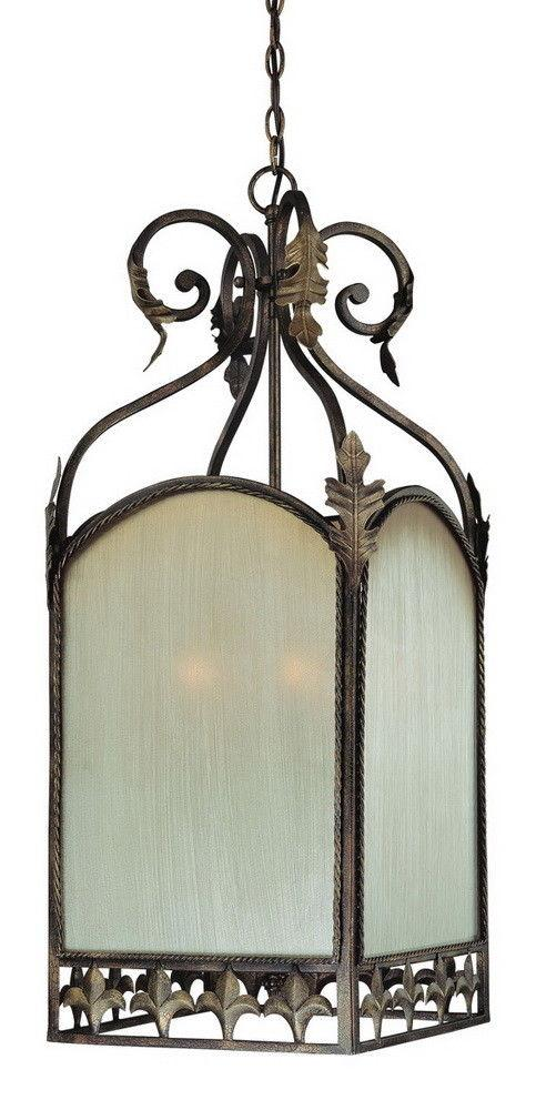 Craftmade Lighting 25736 BBZ Devereaux Collection Six Light Pendant Chandelier in Burleson Bronze Finish