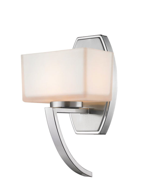 Z-Lite Lighting 614-1SBN Cardine Collection One Light Wall Sconce in Brushed Nickel Finish