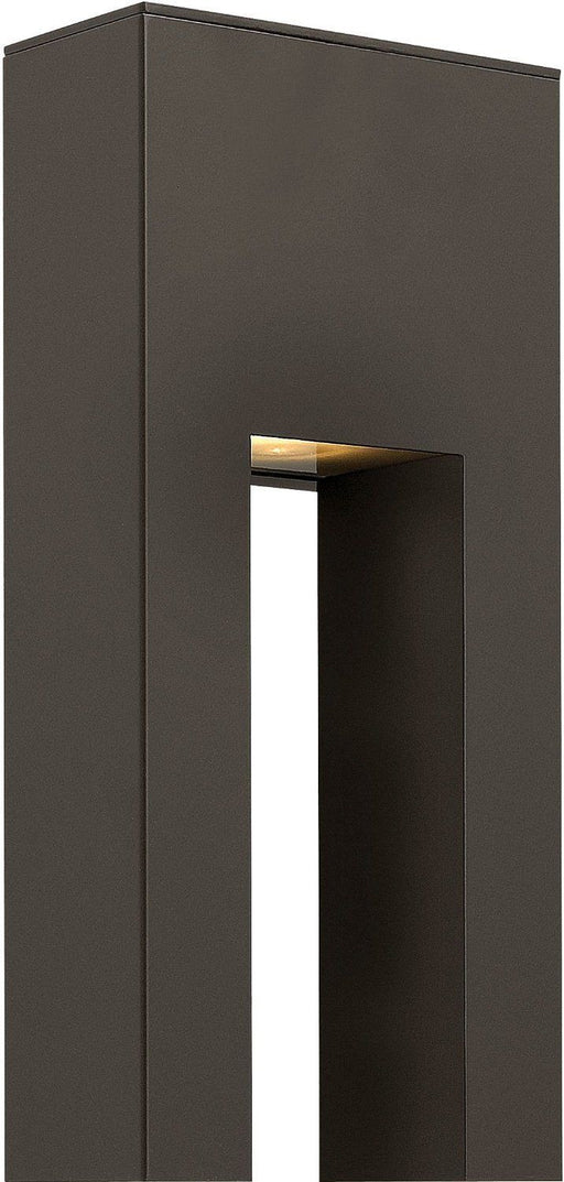 Hinkley Lighting 1642 BZ Atlantis Collection One Light Exterior Outdoor Wall Lantern in Bronze Finish - Discount Lighting Fixtures