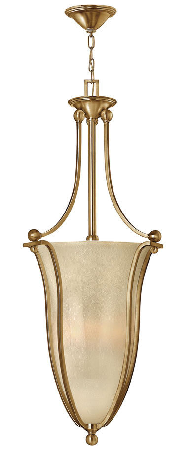 Hinkley Lighting 4665 BR Bolla Collection Six Light Hanging Pendant in Brushed Bronze Finish