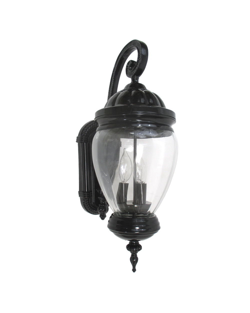 Epiphany Lighting 104973 BK One Light Cast Aluminum