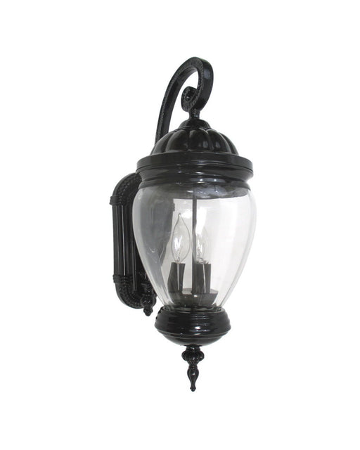Epiphany Lighting 104973 BK One Light Cast Aluminum Outdoor Exterior Wall  Lantern In Black Finish