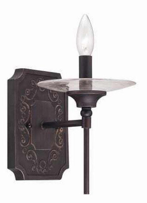 Craftmade Lighting 36361 ABZG Amsden Collection One Light Wall Sconce in Aged Bronze Finish