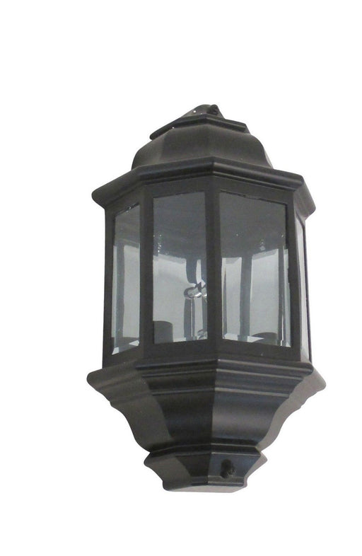 Rainbow EVER 6003 BLK Three Light Exterior Wall Lantern in Black Finish