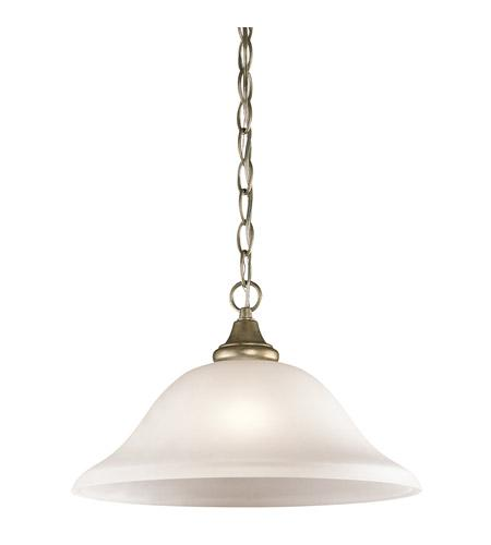 Kichler Lighting 43172SGD Monroe Collection One Light Hanging Pendant Chandelier in Sterling Gold Finish