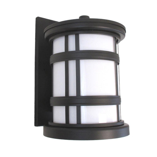 Oxygen Lighting 2-700-295 Stratford Collection One Light Energy Efficient Fluorescent Outdoor Exterior Wall Lantern in Old World Bronze Finish