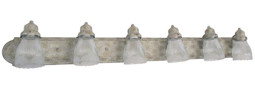 Craftmade Lighting 11748PE6-G112 Six Light Bath Vanity Wall Mount in Pearl Essence Finish