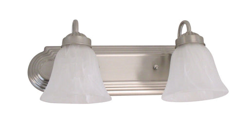 Rainbow EVER 1402BN-LED Two Light Dimmable LED Bath Vanity Wall Mount in Brushed Nickel Finish