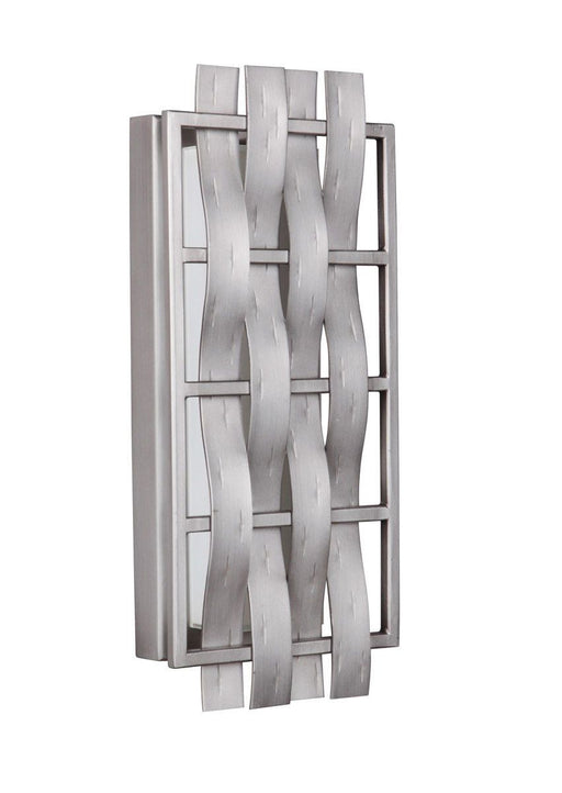 Craftmade Lighting 13616CM-LED Lakeshore Collection 16 Inch LED Wall Sconce in Chromite Finish