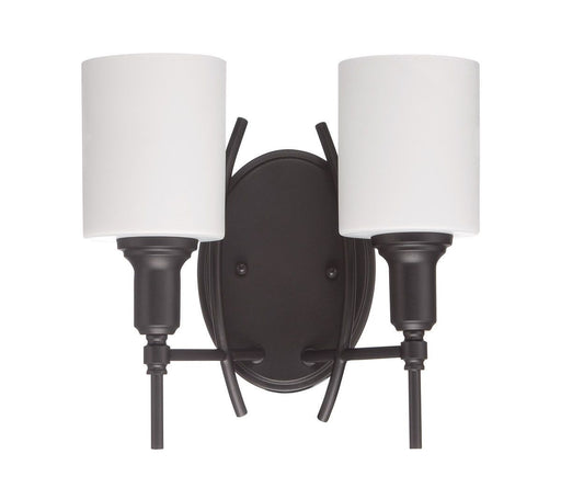 Craftmade Lighting 37262 ESP Meridian Collection Two Light Wall Sconce in Espresso Finish