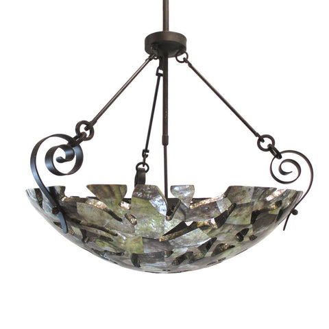 Kalco Lighting B2613SB Six Light Pendant Chandelier in Sienna Bronze Finish