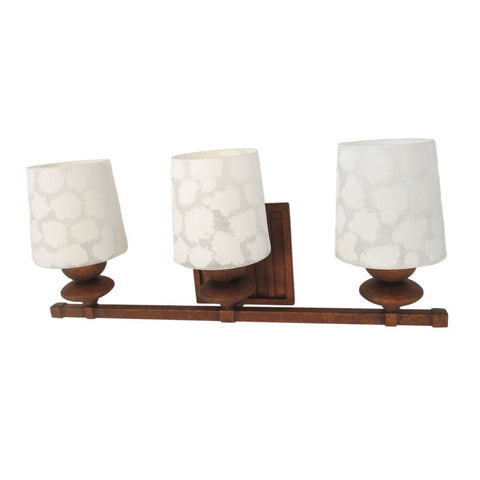 Kalco Lighting B6683VC Beverly Collection Three Light Bath Vanity Wall Sconce in Volcanic Copper Finish - Quality Discount Lighting