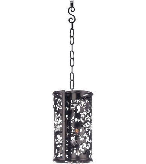 Kalco Lighting 2530 EB Ophelia Collection One Light Mini Pendant in Ebony Finish - Quality Discount Lighting